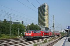 DB 218 400 + RE (Durk Houtsma.) Tags: mnchen duitsland heimeranplatz br218 beieren dosto dostos 218400 2184000