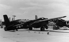 Several B-26s in the compound (eLaReF) Tags: bw white black graveyard airplane tucson aeroplane invader douglas boneyard b26 hamiltons a26