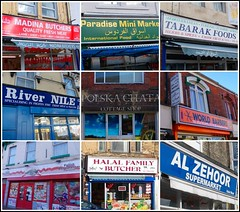 Multi-National Shops ... (* Janets Photos*Site to slow to Comment) Tags: uk collages poland countries national shops hull foreign supermarkets barbers halal takenwithlove mindigtopponalwaysontop lovelyflickr thegoldenachievement goldenachievement dreamlikephotos