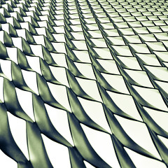 mesh (morbs06) Tags: light shadow abstract colour lines metal architecture facade square pattern graphic mesh geometry stripes dortmund