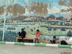 Mural (Shahrazad26) Tags: boumalne marokko maroc morocco mural muurschildering