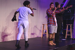 _DSC0856 (WildStyle DaProducer) Tags: women rappers poetry poets hiphop hiphopshow hiphopartist womenrappers femalerapper indianapolis indianapolishiphop indiana artsgarden