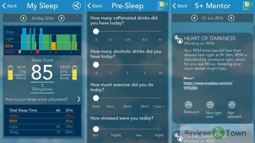 S+ sleep tracker review