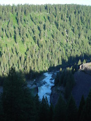 Lower Mesa Falls (jimmywayne) Tags: waterfall falls historic idaho waterfalls snakeriver henrysfork fremontcounty lowermesa
