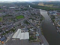 16-08-11 18-14-07 Arklow city (Stephen at i-Home/i-Fish (www.i-fish.ie)) Tags: drone dji phantom3 arklow