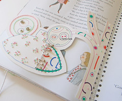 storybook stitching (contemporary embroidery) Tags: storybook design story stitch embroidery ledger