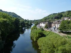View From The Bridge (Thomas Kelly 48) Tags: panasonic lumix fz150 ironbridge shropshire riversevern bridge