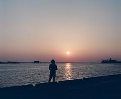 286 (ginhitsuzi) Tags: pentax 67 film analog 35mm sunset sea japan