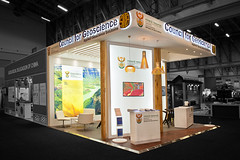Geoscience_custom-stand_HOTT3D_Geological-Congress_4 (HOTT3D Exhibition Stands - Cape Town) Tags: idc2016 councilforgeoscience cticc dmr departmentmineralresources pavilion peninsula cutomexhibit bespoke exhibit design booth expodisplay timberbooth ducosprayed spraypainted bulkhead rigging ledsign timberfloor raisedplatform novilon conference confex delegates meetings reception informationkiosk lounge backlitgraphics fabricprinting tensionedfabricprinting ledscreens cnccutlogo diecutvinyl eventprofs sketchup vray photoshop capetown southafrica hott3d
