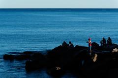 Isolamenti (Danilo Mazzanti) Tags: danilo danilomazzanti mazzanti wwwdanilomazzantiit fotografia foto fotografo photography photos genovacogoleto liguria mare pesca ragazzo silhouette