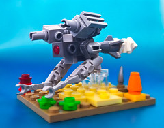 Underwater drone (chubbybots) Tags: lego drone underwater