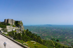 A Sicilian Castle overlooking Trapani (nadeeshacabral) Tags: erice castle medieval italy sicily architecture travel europe sony a6000