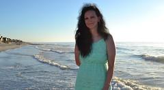 pawleys island beach (tattooedcouple) Tags: preacher wife cute vickie pawleys island beach