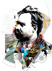 nietzsche_1_B (tuliofagim) Tags: tuliofagim graphicartist artistagrafico visualartist artistavisual