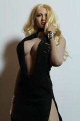 Phicen kitbash (kengofett) Tags: phicen kimi blonde headsculpt 16 female figure