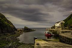 Ortigueira (titodixebra) Tags: ortigueira ortiguera asturies asturias coaa cuaa puerto puertu piurtu mar