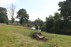 IMG_4713 (alicemaryfox) Tags: yorkshire sculpture park kaws henri moore cattle sheep art discovery water bridge stately home national