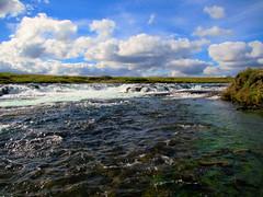 Brúará Dynjandi (skolavellir12) Tags: waterfalls iceland clouds brúará suðurland spóastaðir dynjandi