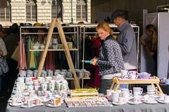 Dyzajn market in Prague (AlyonaOrlova) Tags: nikon d5300 prague czech people female woman seller shopping market