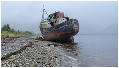 "Corpach Fort William (Ben.Allison36) Tags: corpach fort william scotland shipwreck boat lochaber loch linnhe ""the golden harvester"""