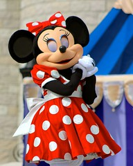 Minnie Mouse (jordanhall81) Tags: minnie mouse mickey dream along with dawm show live stage cinderella castle entertainment performer character magic kingdom mk walt disney world wdw orlando florida lake buena vista lbv theme park