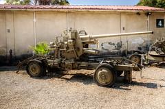artillery (3) (maskirovka77) Tags: israeldefenseforces idf museum idfmuseum tanks m48 outdoors hdr armoredcar artillery antiaircraft armoredpersonnelcarrier bridgingequipment