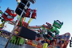 DSC02215 (A Parton Photography) Tags: fairground rides spinning longexposure miltonkeynes fireworks bonfire november cold