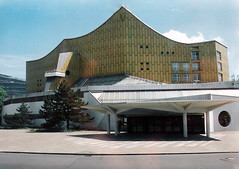Germany.  June 12th.-20th. 1999 (Cynthia of Harborough) Tags: 1999 architecture canopies concerthalls entrances