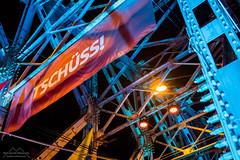 Tschss! (Mark Horvath) Tags: budapest eu europe hajogyari hungary obuda sziget sziget2016 szigetfestival banner bridge festival german islandoffreedom night steel summer szitizen wide wideangle