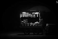 Late Seller (Harigobind) Tags: lowlight canon1200d blackandwhite bw seller night nightseller