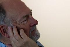 Stephen in reflection 160919-160250 C4 (Wambeke & Wambeke Photography, Art, & Textiles) Tags: stephen man person face manreflecting portrait portraitofaman candidportrait charliewambekephotography canoneos80dphoto wambekeandwambekephoto wambekewambekephotographyarttextiles