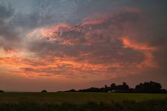 Indian Summer (ianbonnell) Tags: latesummer indiansummer billinge sthelens wigan merseyside lancashire sunset england uk