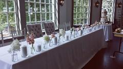 head table 01 (Flower 597) Tags: weddingflowers weddingflorist centerpiece weddingbouquet flower597 bridalbouquet weddingceremony floralcrown ceremonyarch boutonniere corsage torontoweddingflorist