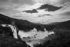 Athirapally Waterfalls (Vilvesh) Tags: athirapally athirapallywaterfall bw monochrome waterfalls nature monsoon weather kerala thrissur godsowncountry rain nikond750 nikon24120 landscape travel longexposure ndfilter bwndfilter bwfilter bwnd