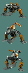 Revotain [Defence] 3 (Folisk) Tags: bionicle gung0rt lego moc ldd digital designer pov hero factory technic mecha turret machine transform