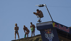 Red Bull Cliff Diving 2016 (Ade-Wales(Moving house, see you soon!)) Tags: wales red bull cliffdiving redbullcliffdiving adewales pembrokeshire abereiddy diving