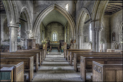 Wadenhoe Church Interior (Darwinsgift) Tags: wadenhoe church interior northamptonshire voigtlander 20mm f35 color skopar hdr photomatix