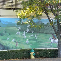 Mural, Cumberland Maryland (crop) (Room With A View) Tags: mural art cumberland maryland