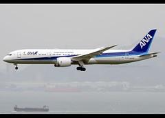 Boeing | 787-9 | Dreamliner | All Nippon Airways | JA879A | Hong Kong | HKG | VHHH (Christian Junker | Photography) Tags: nikon nikkor d800 d800e dslr 70200mm plane aircraft boeing b7879 b789 b787 b787900 allnipponairways ana allnippon nh nh859 ana859 allnippon859 ja879a dreamliner heavy widebody staralliance arrival landing 25r airline airport aviation planespotting 43869 454 43869454 hongkonginternationalairport cheklapkok vhhh hkg clk hkia hongkong sar china asia lantau terminal2 t2 skydeck christianjunker flickrtravelaward flickraward zensational hongkongphotos worldtrekker superflickers