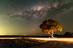 Passing by the galaxy