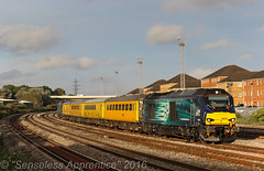 """Tireless & Fearless"" (MSRail Photography) Tags: class68 68 drsrevised networkrail serco"
