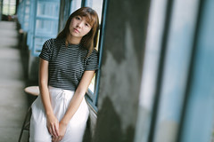 WIL_4649 (WillyYang) Tags: canon5d3 5d3 model portrait taiwan bokeh face bokehlicious 50mmf12 50mmf12l 50l