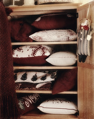 Changing seasons... (..Ania.) Tags: seasonal pillows armoir throws