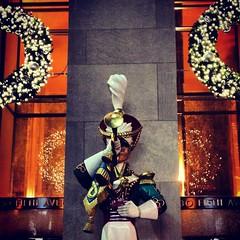 Rockefeller Center - Christmas 2012 (Sylvia Syracuse (Gothamiste) iPhone and Canon DSLR) Tags: christmas nyc newyorkcity newyork manhattan rockefellercenter gotham newyorknewyork 2012 thebigapple rockcenter newyorkscenes christmas2012 nycchristmas2012