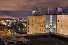 Dreaming of the View From the Macy's Building (SimplyAmy74) Tags: longexposure nightphotography bon washington spokane nocturnal historic macys washingtonstate marche longshutter historicspokane