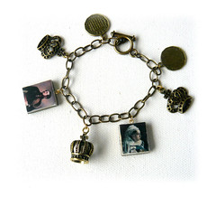 Royal Vintage Victoria Albert polymer clay charm bracelet (Lottie Of London) Tags: london jewellery polymerclay lottie handmadebracelets