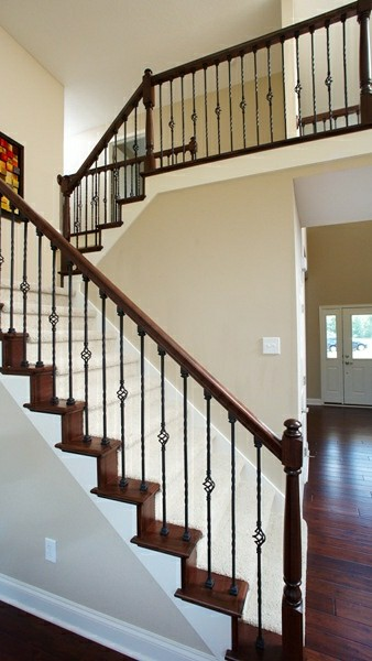 Winchester Wrought Iron Staircase