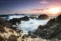 Foamy Sunrise (ianspagnolo) Tags: sunrise canon eos australia foam 7d efs 1022mm seafoam sawtell