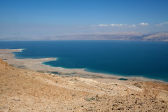 dead sea (Lilipstudio.com) Tags: travel sunset sun seascape mountains reflection nature water beauty weather lens landscape photography coast israel sand rocks view palestine deadsea desertdejudea