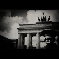 Brandenburg Gate (Antonio Liokouras) Tags: street travel urban berlin horizontal mystery sepia digital germany europe moody shadows photos streetphotography style scene retro spooky textures berlingermany nikond700 brademburggate
